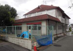 閉園した慈童保育園。現在は、新たな事業者を探している(長岡京市開田1丁目)