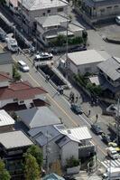 堤将太さんが殺害された現場周辺=2010年10月5日午後、神戸市北区