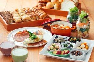 定額制で楽しめる京都タワーホテルの朝食ビュッフェのイメージ