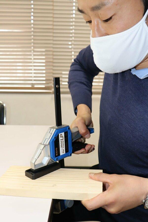 DIY向けでヒットする工具「クランプ」(京都市南区・ムラテックKDS)