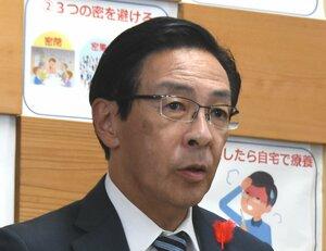 京都府の西脇隆俊知事