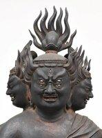 金剛夜叉明王立像(重要文化財 延暦寺蔵 鎌倉時代)