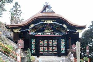 【資料写真】宝厳寺の唐門(滋賀県長浜市)