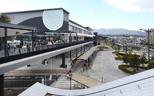 【資料写真】イオンモール京都桂川(2014年12月、京都市南区)