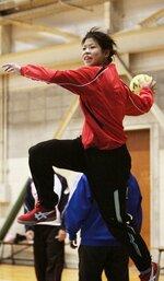 田辺夕貴選手(2009年、大阪府熊取町)