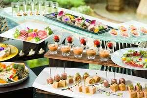 京都ブライトンホテルのビュッフェ料理