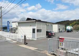 2017年6月から稼働している「三恵福知山バイオマス発電所」(福地山市土師新町)
