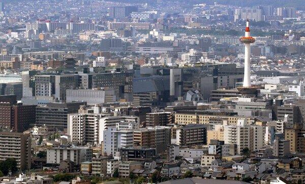 緊急事態宣言が発令されている京都市内