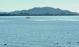 琵琶湖(長浜市)