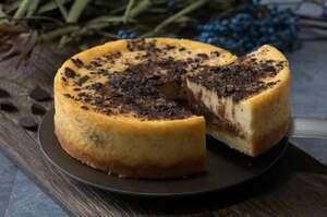 Dari Kのビターチョコを使ったチョコチーズケーキ
