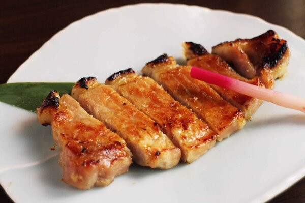 一の傅の蔵みそ焼「琉香豚」