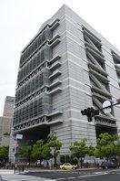 大規模接種センターが開設された大阪府立国際会議場(大阪市北区)