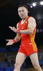 肖若騰=24日、有明体操競技場