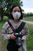「写真を通して思い出を残す手伝いをしたい」と話すカメラマンの藤岡さん
