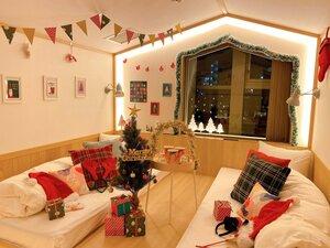 1日1室限定の「クリスマスホリデールーム」