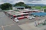 京都京阪バスの車庫。洪水時にどこへバスを避難させるかが課題だった(京都府八幡市上奈良)