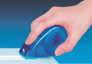 片手でテープを貼れるハリマウス