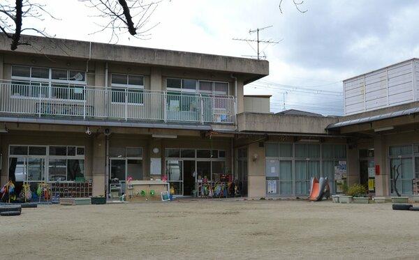 門川市長が規模の縮小や廃止を含めて検討する方針を示した聚楽保育所(京都市中京区)