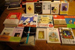 西村さんお勧めの本や著者の本(福知山市中ノ・古本と珈琲 モジカ)
