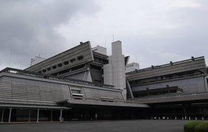 会場となる国立京都国際会館(京都市左京区)