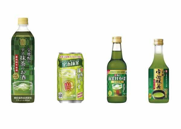 宝酒造が注力する抹茶アルコール飲料