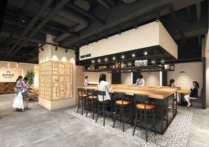 OMO5京都三条のロビーイメージ図