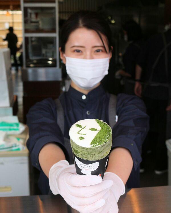 よーじやが嵐山に開業するテークアウト専門店のクレープ(京都市右京区)