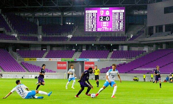リーグ戦が再開し、無観客のホーム開幕戦で磐田と対戦する京都サンガイレブン(28日午後7時42分、亀岡市・サンガスタジアム京セラ)