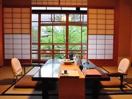旅館部門で国内1位となった「料理旅館 白梅」の客室(京都市東山区)