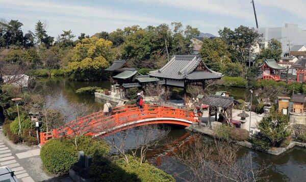 【資料写真】神泉苑(京都市中京区)
