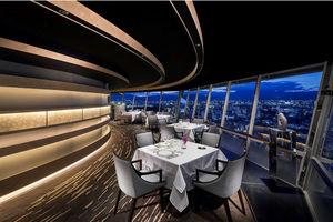 リーガロイヤルホテル京都で、最上階からの景色を楽しめるレストラン