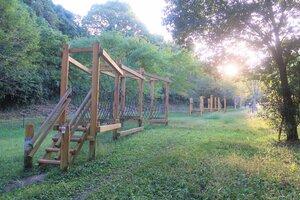 地元住民がスケートパークの整備場所として想定している春日山公園(滋賀県大津市真野)