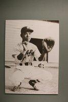 京都府京丹後市の「野村克也ベースボールギャラリー」に展示されている少年時代の克也さん