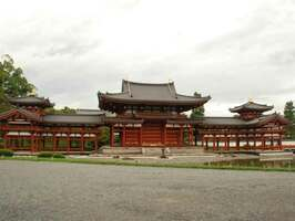 国宝の平等院鳳凰堂(京都府宇治市)