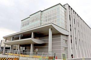 一部業務が始まった滋賀県運転免許センター新庁舎(守山市木浜町)