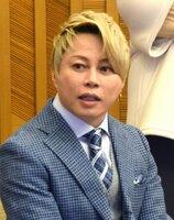 滋賀県観光大使の西川貴教さん(2020年2月、大津市・滋賀県公館)