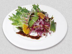 小川珈琲のサラダ