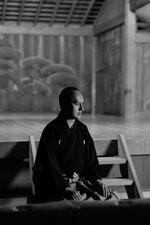 JAPAN MASTER CLASS by Zoomで講師を務める金剛流若宗家の金剛龍謹さん