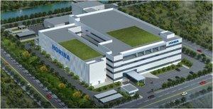 堀場製作所が中国・上海に建設する新拠点のイメージ