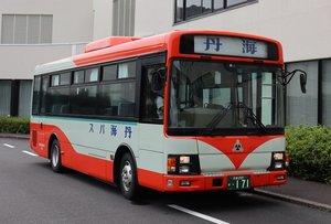 【資料写真】丹後海陸交通のバス