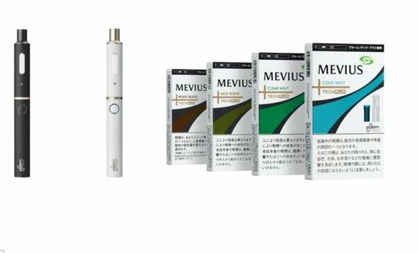 低温加熱式たばこの新商品「プルーム・テック・プラス」とメビウスの4銘柄 [LF]