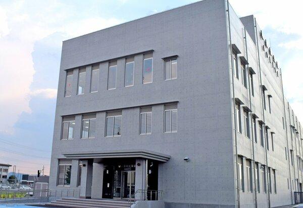 京都府警城陽署の新庁舎(城陽市寺田)