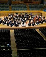 無観客で同時配信された京都市交響楽団の定期演奏会(京都市左京区・京都コンサートホール)