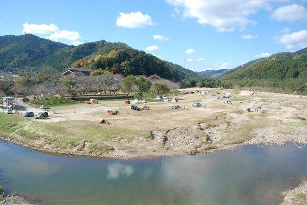 【資料写真】笠置キャンプ場(京都府笠置町)