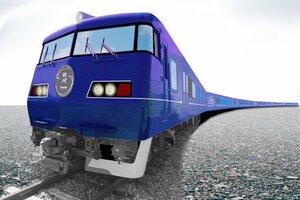 JR西日本が来春に運行を始める長距離観光列車「ウエストエクスプレス銀河」のイメージ
