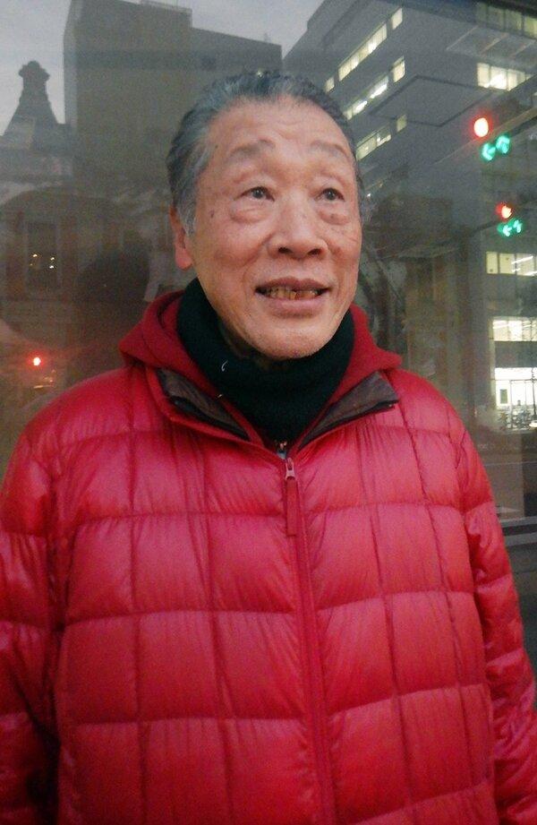 「この音は残さなければいけないと思った」と振り返る川村輝夫さん(京都市内)