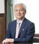 京都府立医科大の学長に再任された竹中洋氏