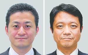 尾形賢氏(左)と上村崇氏